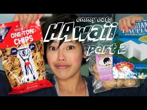 Emmy Eats Hawaii part 2 – tasting more Hawaiian treats
