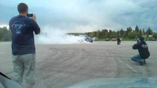 STS Turbo mustang 2nd gear burnout
