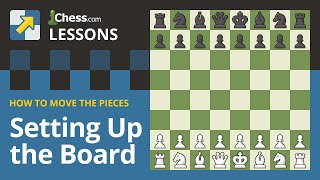 How to Set Up the Board in Chess