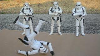 Stormtrooper Secrets: Hip Hop - Harlem Shake (REMIX) VS Star Wars