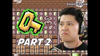 SUPER MARIO MAKER 2 Walkthrough Part 2 - The Hidden Key (Nintendo Switch)