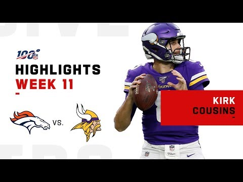 Kirk Cousins Took That Horse to the Ol' End Zone w/ 3 TDs | NFL 2019 Highlights