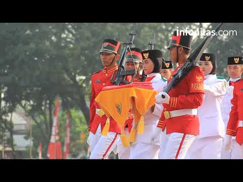 Upacara Bendera Hut RI Ke-72 Kota Tangerang