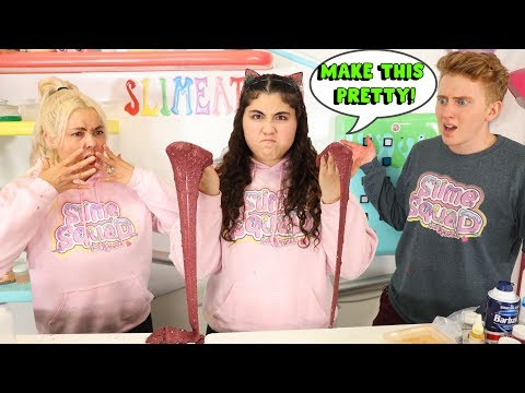 Download MAKE THIS SLIME PRETTY CHALLENGE! PAUL VS JEDDAH! Slimeatory #592 Mp4 HD Video and MP3