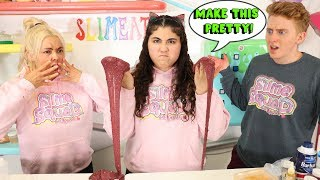 MAKE THIS SLIME PRETTY CHALLENGE! PAUL VS JEDDAH! Slimeatory #592