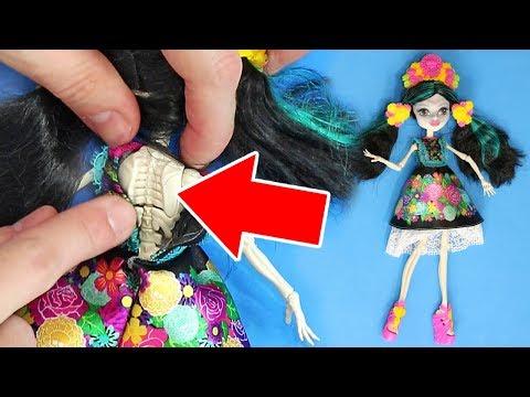 ABRO MUÑECA MONSTER HIGH Y ENCUENTRO ESTO...  | Qué Hay Dentro de una muñeca Monster High?
