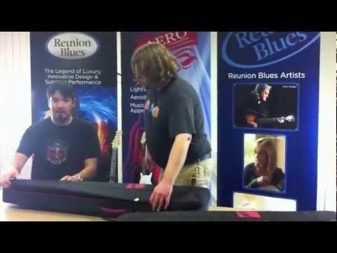 aedc4b9b4d2 Reunion Blues Aero Series Bass Guitar Case (soft case,   Reverb