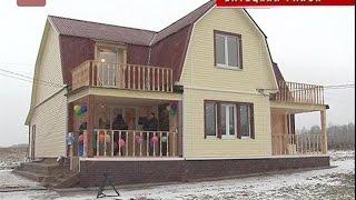 В Батецком районе введены в эксплуатацию два жилых дома