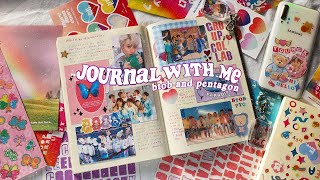Kpop Journal With Me + Where To Get Free Printables  🧸🍼