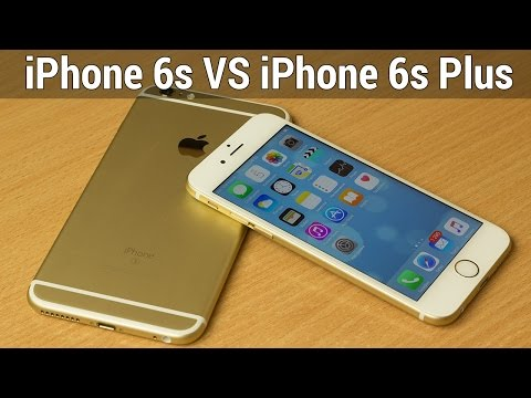 iPhone 6s VS iPhone 6s Plus сравнение. Кто лучше Apple iPhone 6s или iPhone 6s Plus от FERUMM.COM