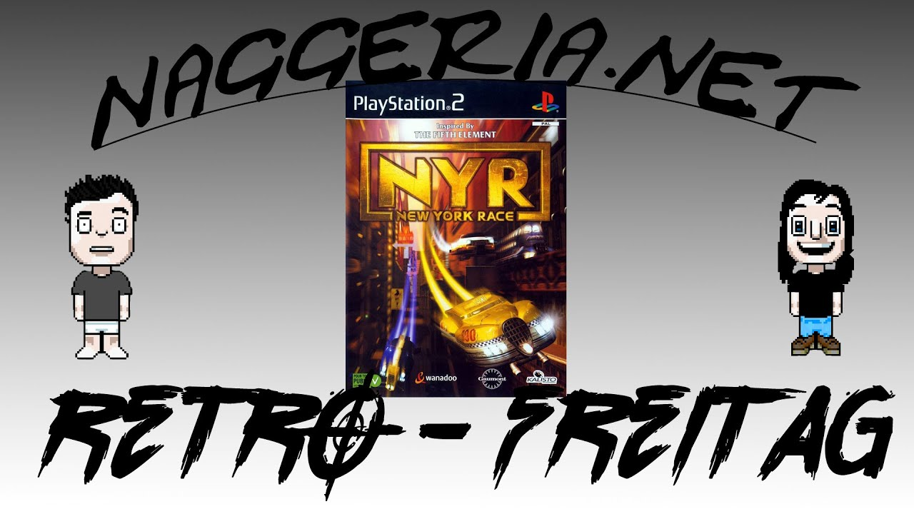 [Retro-Freitag] NYR: New York Race (PS2)