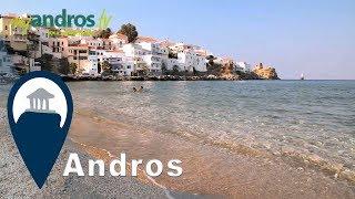 Andros | Paraporti Beach at Chora