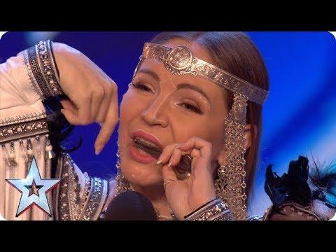 Ольга Подлужная выступила на британской «Минуте славы»