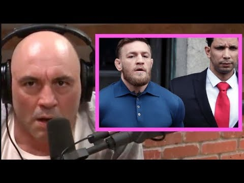 Joe Rogan - The Story Behind Conor McGregor Bus Incident