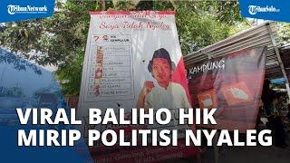 Viral HIK Bikin Baliho bak Politisi Lagi Kampanye di Gemolong: 'Jangan Pilih, Saya Tidak Nyaleg'