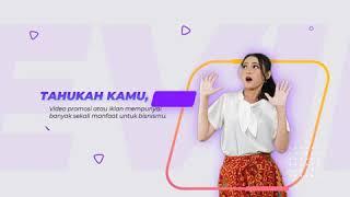 Video 2D Promosi Barang Untuk Sosial Media