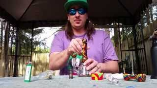 RASTA MINI-TUBE!!!! OFFICIAL REVIEW!!!!!! by Custom Grow 420