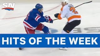 NHL Hits Of The Week: Folin Destroys Skjei!