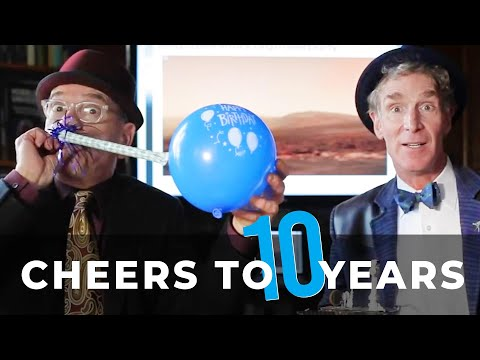 Cheers to 10 Years of Bill Nye as The Planetary Society's CEO