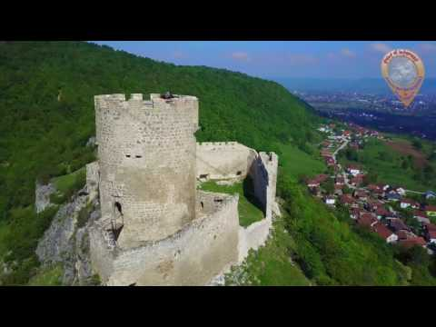 Srednjovjekovna tvrđava Sokolac kod Bihaća