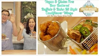 Vegan Cauliflower Buffalo Wings Recipe with The Sexy Vegan Brian Patton