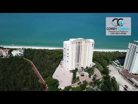 Bay Colony Contessa Naples Florida 360 degree video fly over