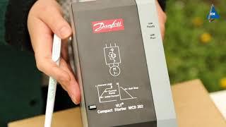 Устройство плавного пуска Danfoss MCD 202-007-T4-CV3 от компании ПКФ «Электромотор» - видео