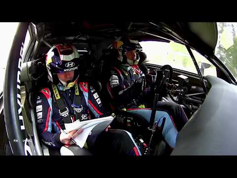 WRC - Neste Rally Finland 2019: Hyundai Onboard compilation