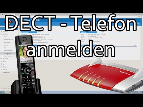 DECT-Telefon an Fritzbox anmelden und Rufnummer zuweisen