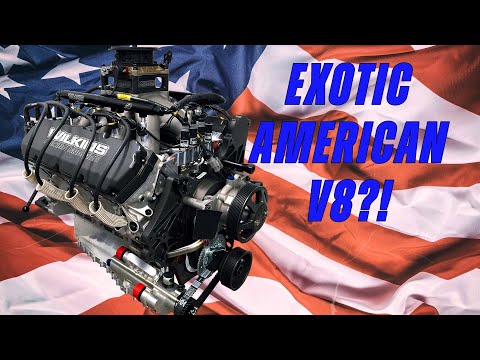 Exotic American V8! 99% of People Have Never Seen this Engine (Wilkins Racing Engines' RY45)