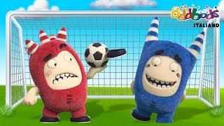 Oddbods | La Febbre del Calcio | Cartoni Animati Divertenti per Bambini | Oddbods Italiano