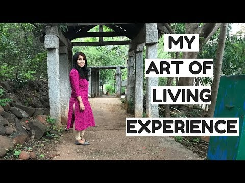 My first Art of Living experience | Happiness Program