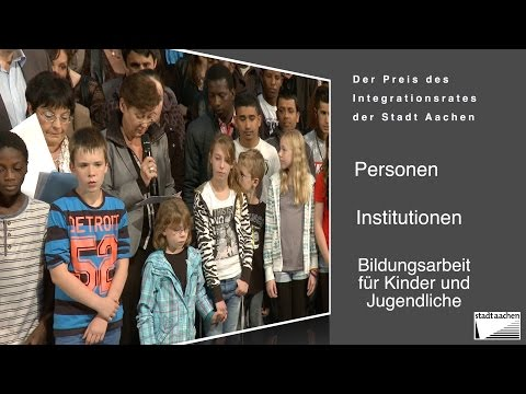 Tag der Integration Aachen, Integrationpreis 2014