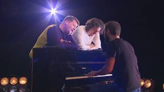 """James Corden & Snow Patrol Duet """"What If This Is All The Love You Ever Get?"""" During Rehearsal"""
