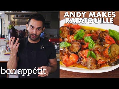 Andy Makes Classic Ratatouille   From the Test Kitchen   Bon Appétit