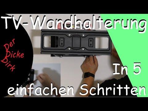 In 5 einfachen Schritten Fernseher sicher an die Wand hängen | Unboxing | Projekt Heimkino