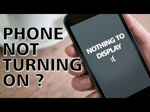 What to do when Smartphone Won't Turn On
