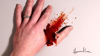 Horror Hand! Cool 3D Trick Art