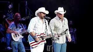 Toby Keith Trace Adkins Courtesy Of The Red White Blue Chords
