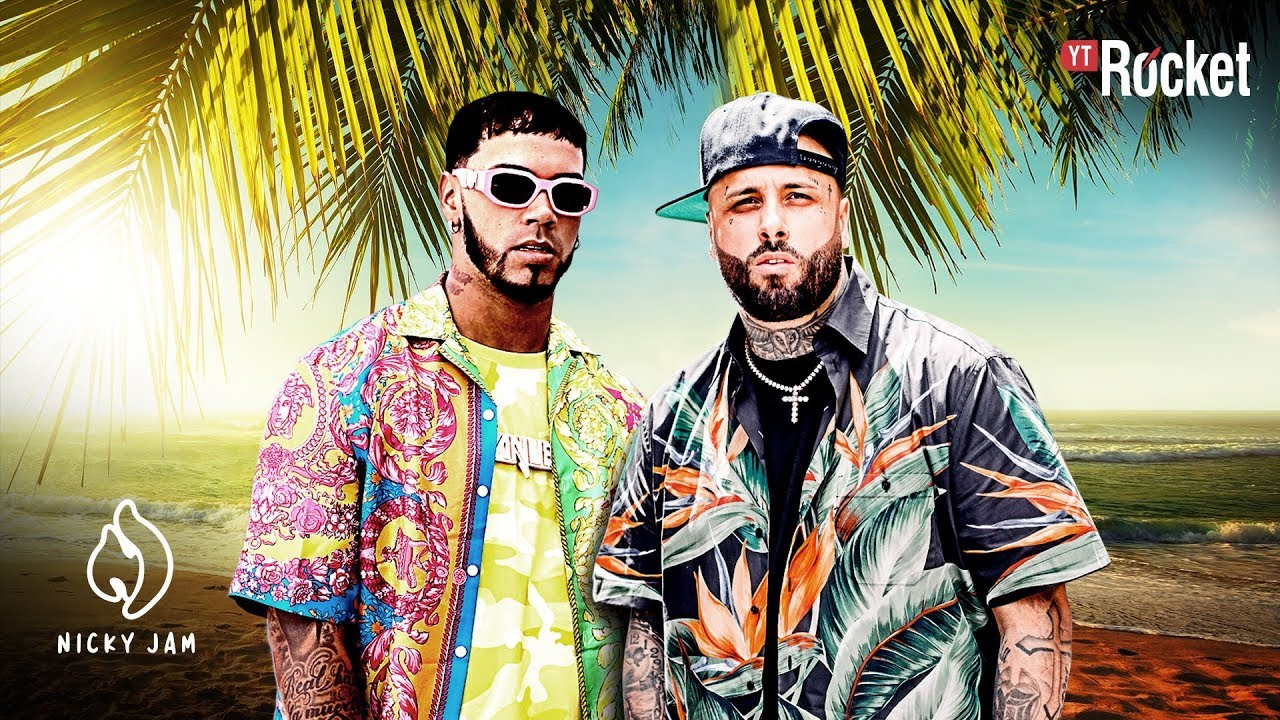 Nicky Jam x Anuel AA — Whine Up