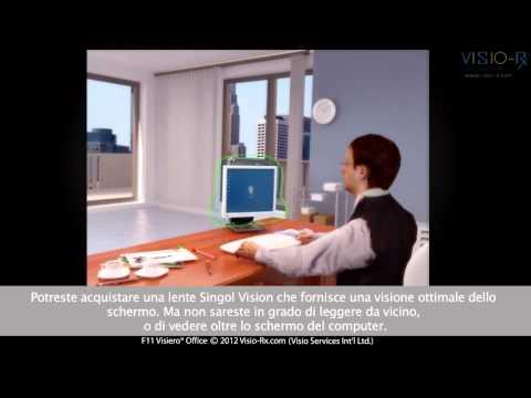 Lenti da Ufficio - Lenti da Lavoro: Visiero® Office. Occhiali progettati  per il lavoro da Ufficio.