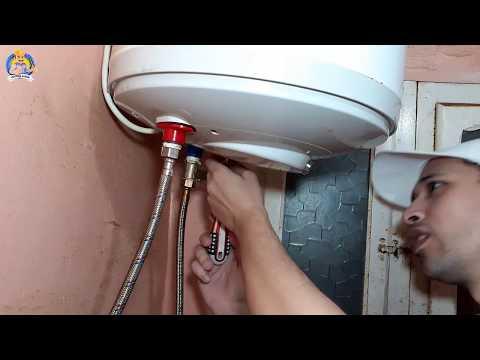 صيانة سخان الكهرباء تغير لمبات البيان - هيثم سعيد