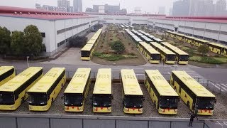 Chinese automaker delivers 600 buses to Saudi Arabia