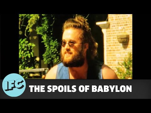 The Spoils of Babylon Behind the Scene