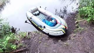 Intex Seahawk 3 Schlauchboot Test und Seeausflug