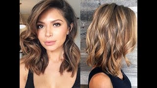 Balayage Hair Ideas In Brown To Caramel Tone