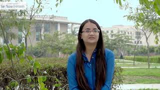 Impressions of the BMS program at Shiv Nadar University by Devanshi