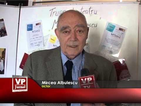 Mircea Albulescu, pe scenă şi în sală