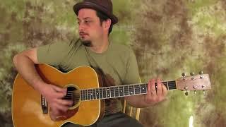 Acoustic Blues Backing track (Key of E)