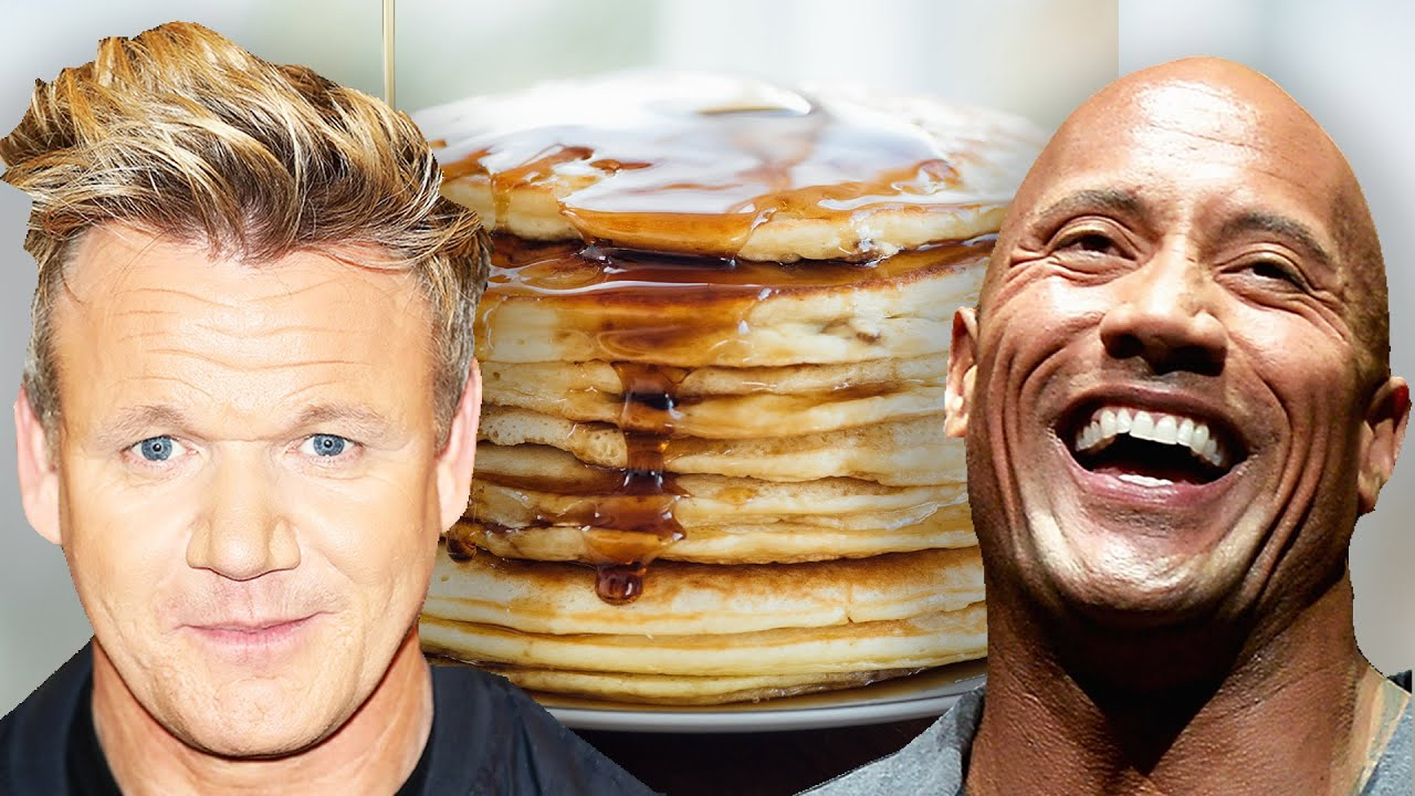 Which Celebrity Has The Best Pancake Recipe? thumbnail